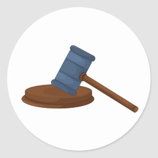 Judges Gavel Stickers
