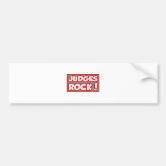 Judges Rock! Bumper Sticker