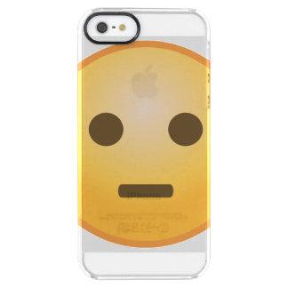 Judging Emoji Clear iPhone SE/5/5s Case