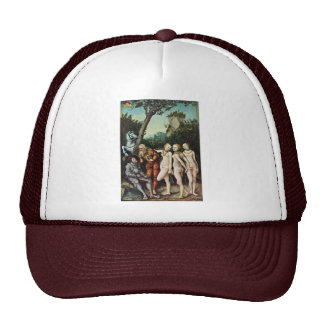 Judgment Of Paris By Cranach D. Ä. Lucas (Best Qua Trucker Hat