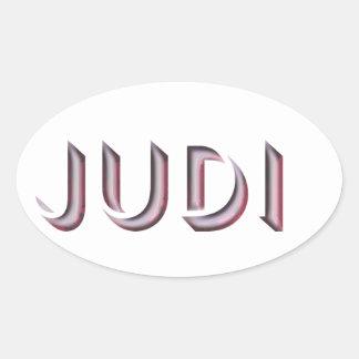Judi sticker name