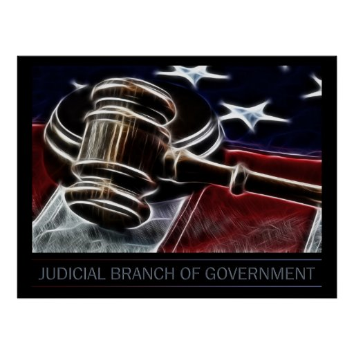 Judicial Branch Of Government Poster