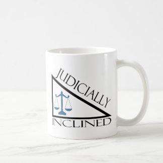 Judicially Inclined Basic White Mug