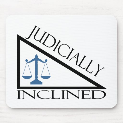 Judicially Inclined Mouse Mat