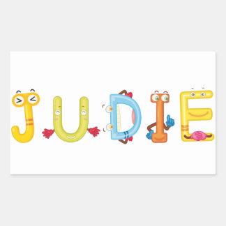 Judie Sticker