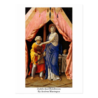 Judith And Holofernes By Andrea Mantegna Postcard