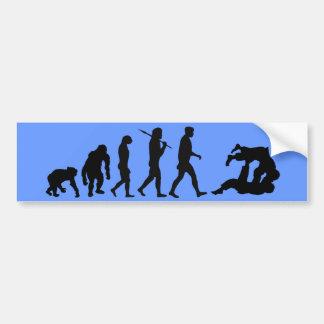 Judo Bumpersticker Martial Arts Judo Bumper Sticker