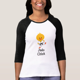 Judo Chick Raglan T shirt