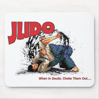 Judo Choke Out Mouse Pad
