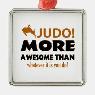 JUDO DESIGN METAL ORNAMENT