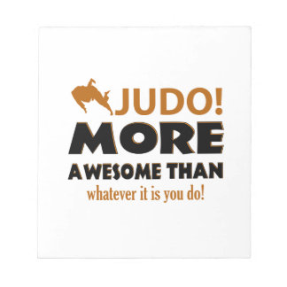JUDO DESIGN NOTEPAD