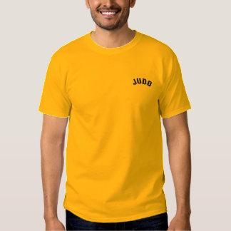 judo embroidered T-Shirt