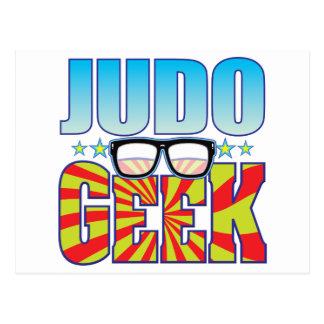 Judo Geek v4 Postcard
