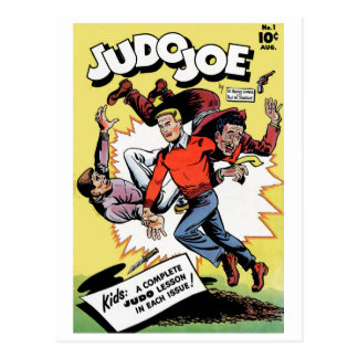 Judo Joe Postcard