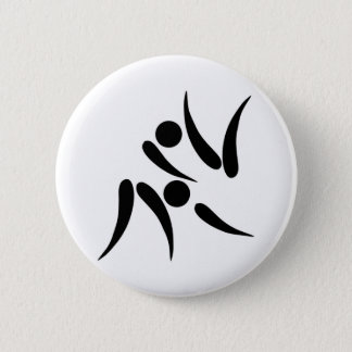 Judo Olympics 2005 Pictogram 6 Cm Round Badge