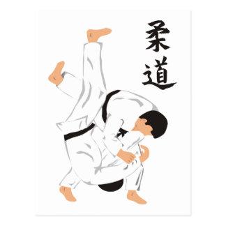 Judo Postcard
