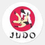 Judo Runde Sticker
