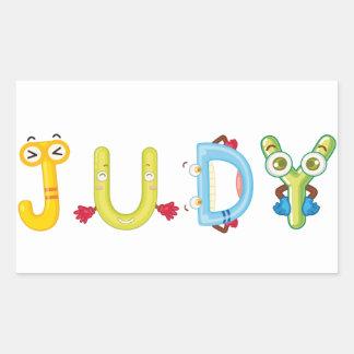 Judy Sticker