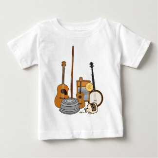Jug Band Instruments Baby T-Shirt