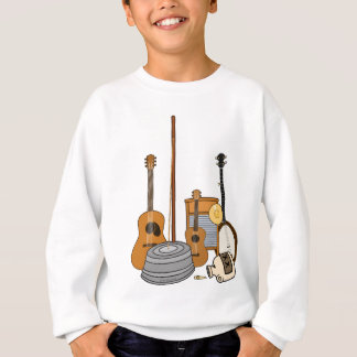 Jug Band Instruments Sweatshirt