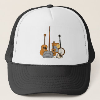 Jug Band Instruments Trucker Hat