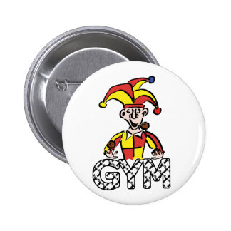 Juggle Gym 6 Cm Round Badge
