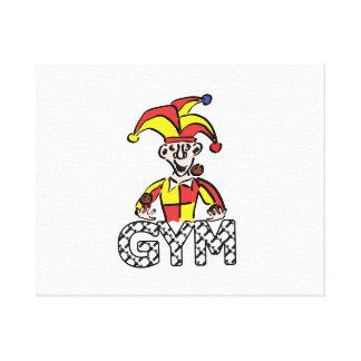 Juggle Gym Canvas Print