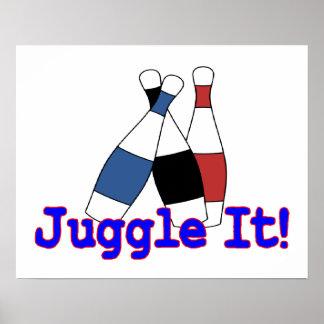 Juggle It Juggler Poster