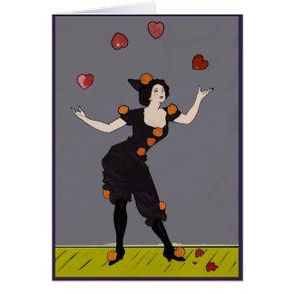 Juggler of Hearts: Don't break my heart! (Card) Card
