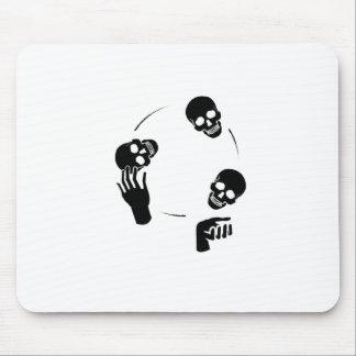 Juggler Skeleton Fun Circus Mouse Pad