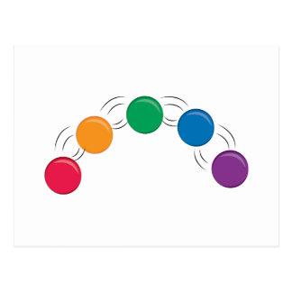 Juggling Balls Postcard