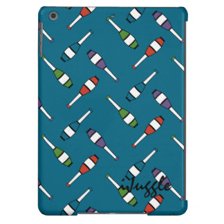 Juggling Club Toss Blue Case For iPad Air