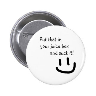 Juice Box 6 Cm Round Badge