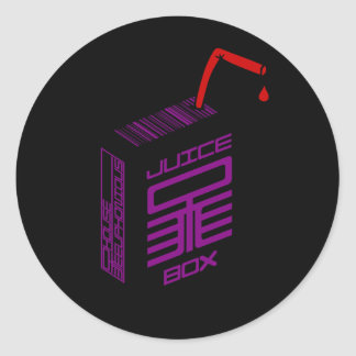 Juice-Box Sticker