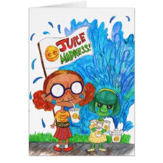 Juice Madness Card