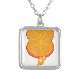 Juiced Up Square Pendant Necklace