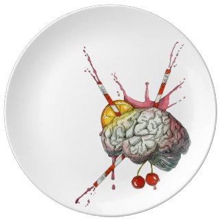 Juicy brain plate