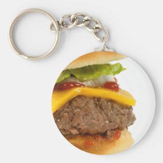 Juicy Cheeseburger Keychains
