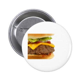 Juicy Cheeseburger Pinback Buttons