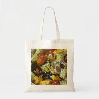 Juicy Cucumber Tomato Chop Salad Tote Bag