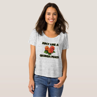 Juicy like a Georgia Peach T-shirt (women's)