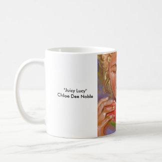 Juicy Lucy ~ Chloe Dee Noble Coffee Mug