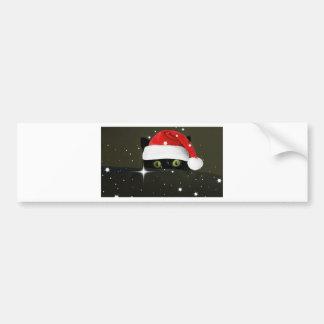 Juicy Lucy Santa Hat Bumper Sticker