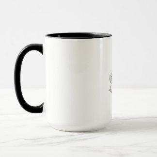 Juicy Mango Black and White Mandala Mug