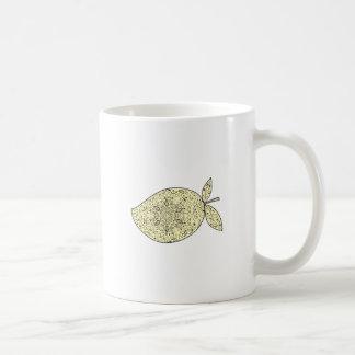 Juicy Mango Fruit Mandala Coffee Mug
