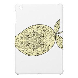 Juicy Mango Fruit Mandala iPad Mini Cover