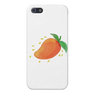 Juicy Mango Fruit Watercolor iPhone 5/5S Cases