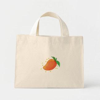Juicy Mango Fruit Watercolor Mini Tote Bag
