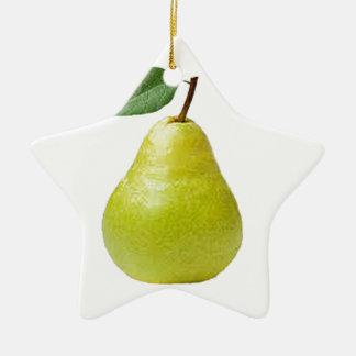 juicy pear christmas tree ornament
