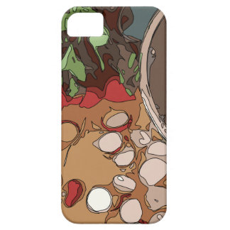 Juicy Radishes and Grilled Potato iPhone 5 Cover